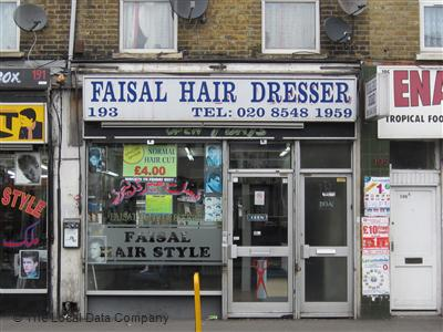 Faisal Hair Dresser London
