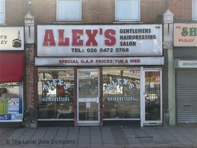 Alex Barbers London