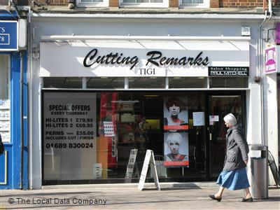 Cutting Remarks Orpington