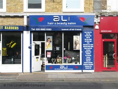 Ali Hair & Beauty Salon London