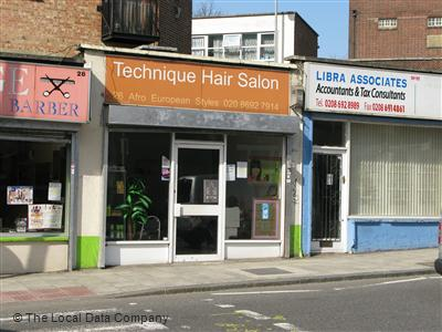 Technique Hair Salon London