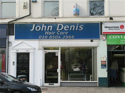 John Denis Woodford Green