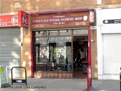 "Steve""s Old School Barber Shop Stockport"