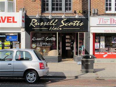Russell Scott Hair Eastleigh