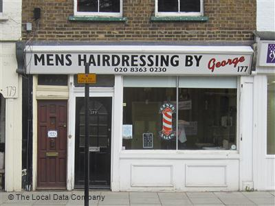 Mens Hairdressing By George Enfield