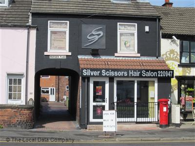Silver Scissors Hair Salon Chesterfield
