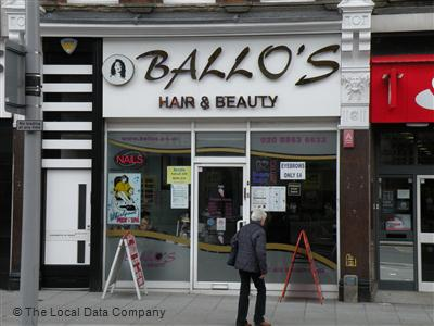 "Ballo""s Hair & Beauty Harrow"