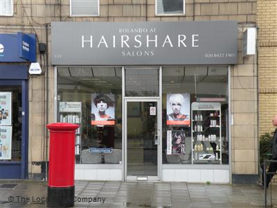 Rolando At Hairshare Salons Harrow