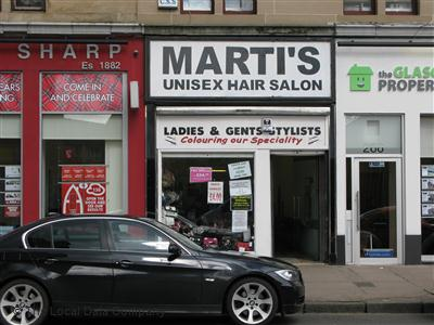 Martis Unisex Hair Salon Glasgow