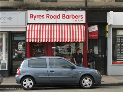 Byres Road Barbers Glasgow