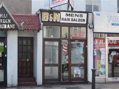 B&N Mens Hair Salon Barnet