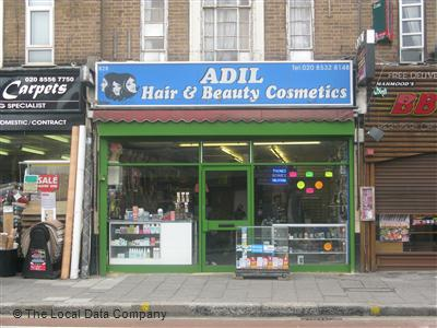 Adil Hair & Beauty Cosmetics London