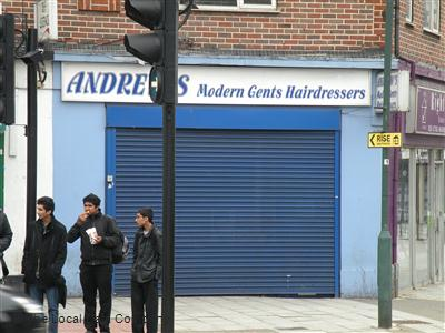 "Andrew""s Modern Gents Hairdressers Wembley"