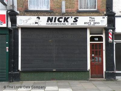 "Nick""s Hairdressing For Men Hayes"