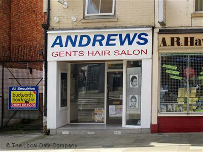 Andrews Gents Hair Salon Northampton