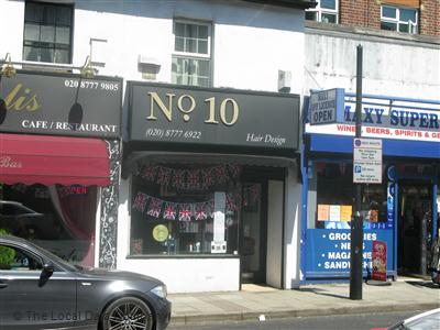 No. 10 Hair Design West Wickham