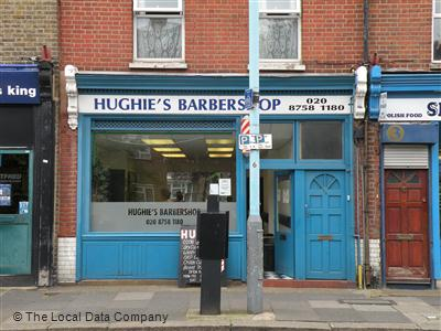 "Hughie""s Barber Shop Isleworth"