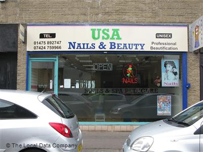 USA Nails & Beauty Greenock