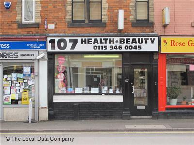 107 Health & Beauty Nottingham