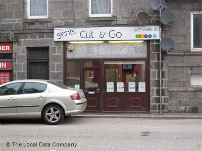 Gents Cut & Go Aberdeen