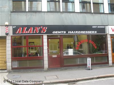 "Alan""s Gents Hairdressers London"