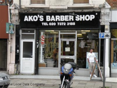 "Ako""s Barber Shop London"