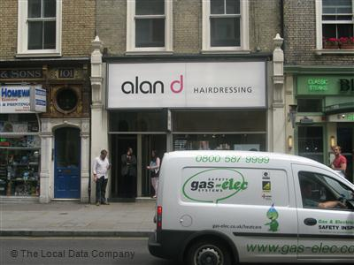 alan D Hairdressing London