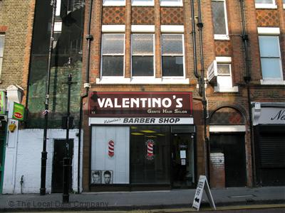 "Valentino""s Gents Hair Salon Croydon"