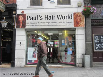 Pauls Hair World Liverpool