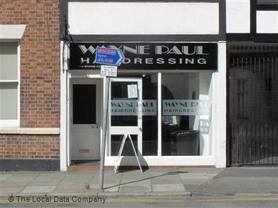 Wayne Paul Hair Shop Chester