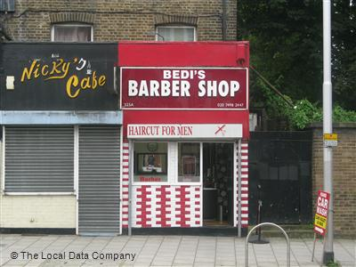 "Bedi""s Barber Shop London"