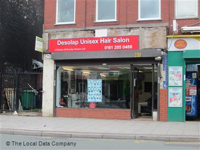 Desolap Unisex Hair Salon Manchester