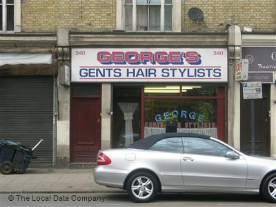 "George""s Gent Hairstylist London"