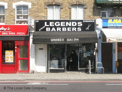 Legends Barbers London