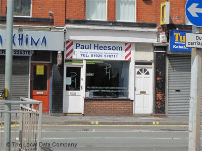 Paul Heesom Quality Gentlemens Hairdressing Warrington