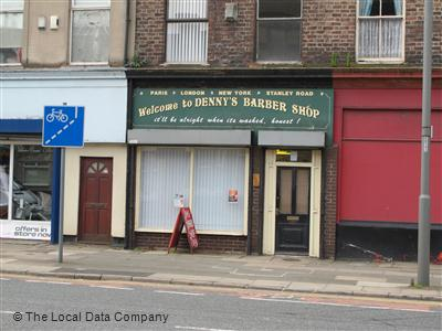 "Denny""s Barber Shop Liverpool"