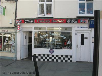 Taji Turkish Barber Newton Abbot