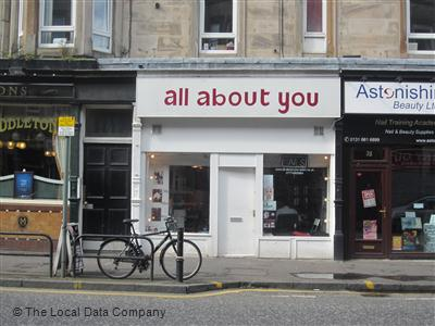 All About You Edinburgh