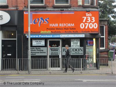 Tops Hair Reform Liverpool