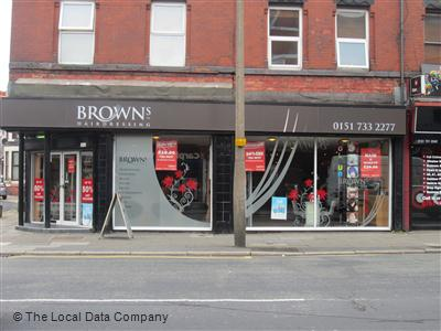 Browns Hairdressing Liverpool