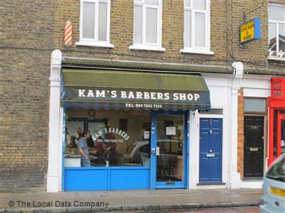 "Kam""s Barbers Shop London"