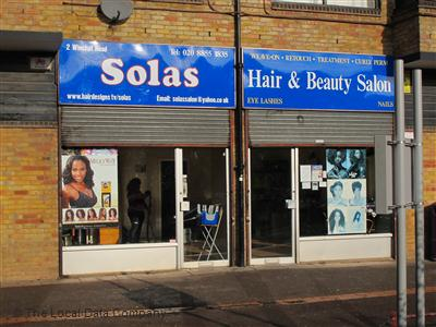 Solas Hair & Beauty Salon London