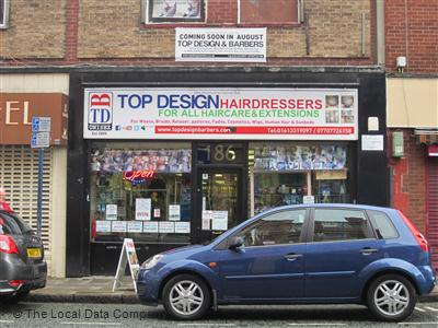 Top Design & Hairdressers Ashton-Under-Lyne