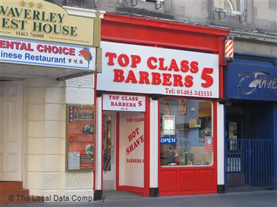 Top Class Barbers 5 Inverness
