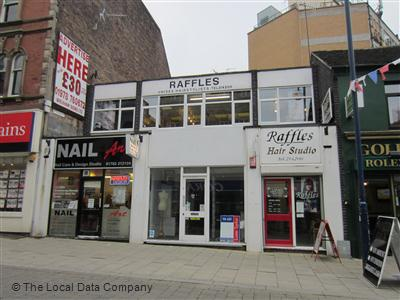 Raffles Hair Studio Stoke-On-Trent
