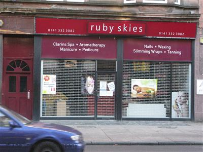 Ruby Skies Glasgow