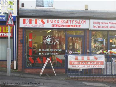 Reds Hair & Beauty Salon Sheffield