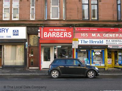163 Maryhill Barbers Glasgow