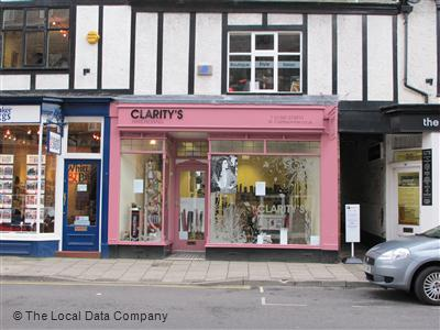 "Clarity""s Hairdressing Congleton"