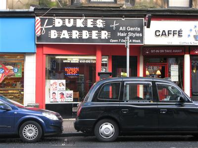Dukes Barber Glasgow